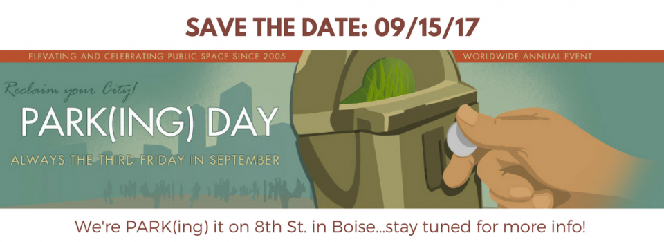 PARK(ing) Day Website Cover